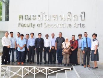 ต้อนรับคณาจารย์จาก School of the Arts University Sains Malaysia