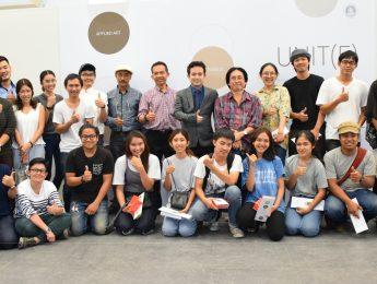 คณบดีเป็นประธานในพิธีเปิดนิทรรศการวิทยานิพนธ์หลักสูตรปริญญาศิลปมหาบัณฑิต สาขาวิชาศิลปะการออกแบบ (UNIT)
