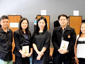 คณะมัณฑนศิลป์ เข้ารับการตรวจประเมินคุณภาพการศึกษาภายใน ระดับหลักสูตร หลักสูตรศิลปบัณฑิต สาขาออกแบบผลิตภัณฑ์