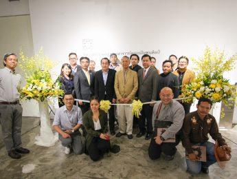 พิธีเปิดนิทรรศการผลงานคณาจารย์คณะมัณฑนศิลป์ ประจำปี 2561