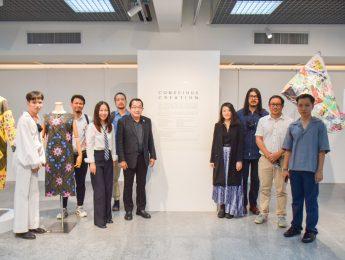 """CONSCIOUS CREATION"" พิธีเปิดนิทรรศการผลงานคณาจารย์ ภาควิชาออกแบบเครื่องแต่งกาย คณะมัณฑนศิลป์ มหาวิทยาลัยศิลปากร ร่วมกับ Shih Chien University, College of Fashion Design ประเทศไต้หวัน"